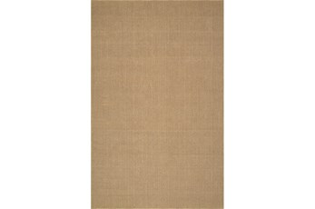 96X120 Rug-Wool Sisal Grid Wheat