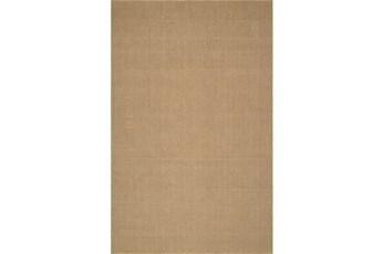 108X156 Rug-Wool Sisal Grid Wheat