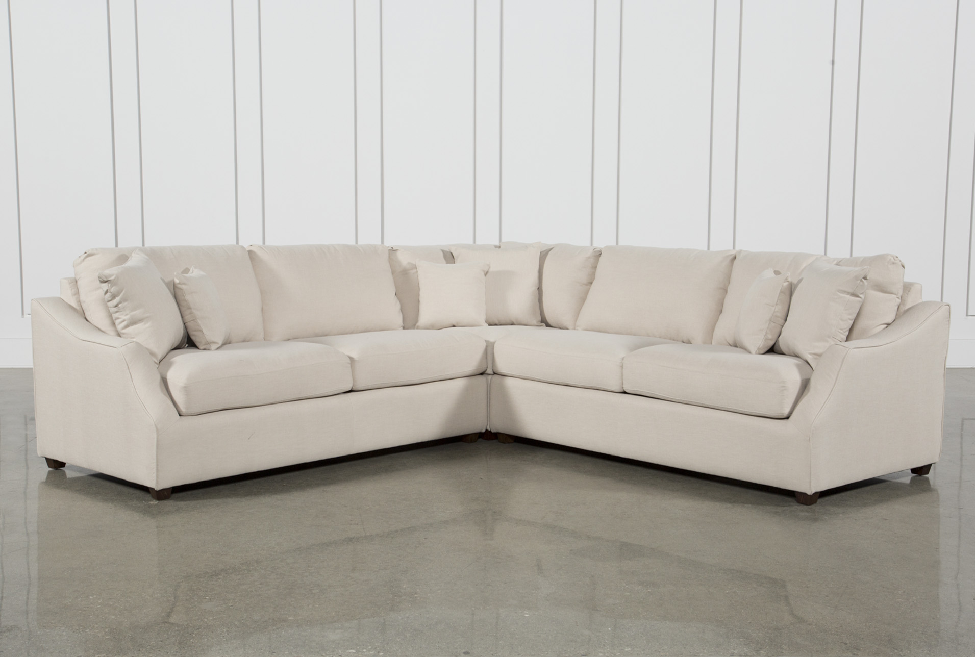 Magnolia Home Homestead 3 Piece Sectional By Joanna Gaines