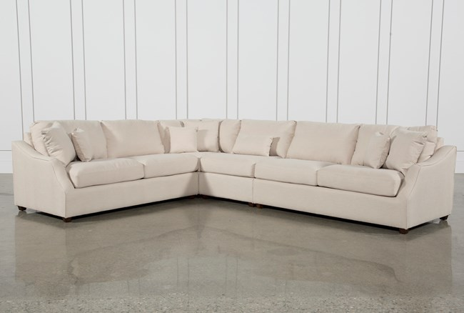 Magnolia Home Homestead 4 Piece Sectional By Joanna Gaines - 360
