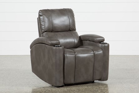 Landau Taupe Power Recliner