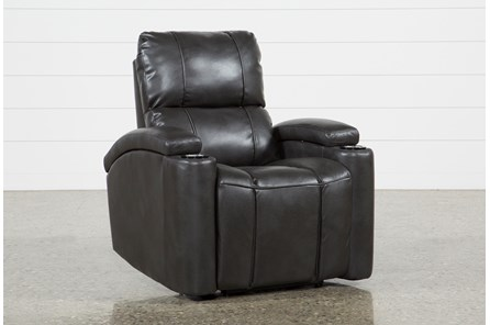 Landau Slate Power Recliner - Main