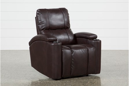 Landau Chocolate Power Recliner - Main