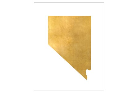 Picture-30X37 Metallic Golden Land Nv