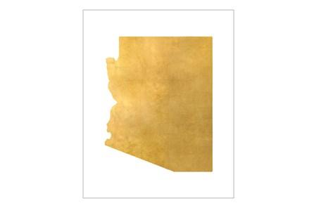 Picture-30X37 Metallic Golden Land Az