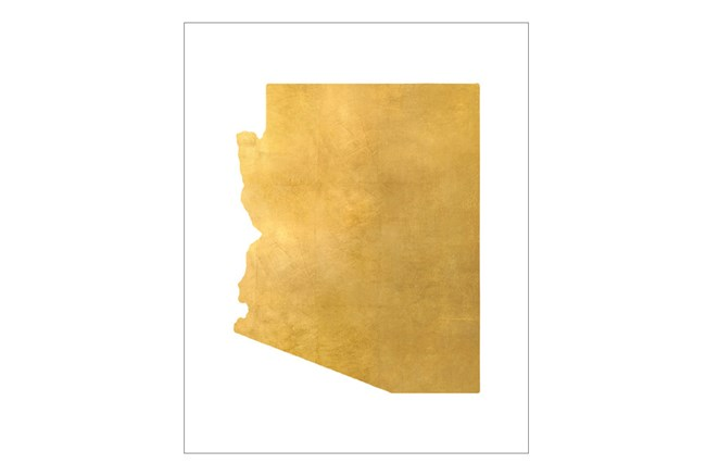 Picture-24X30 Metallic Golden Land Az - 360