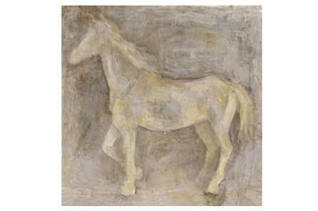Picture-36X36 Gentle Horse II - Main