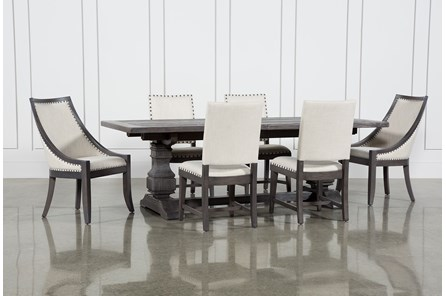 Norwood 7 Piece Rectangle Extension Dining Set - Main