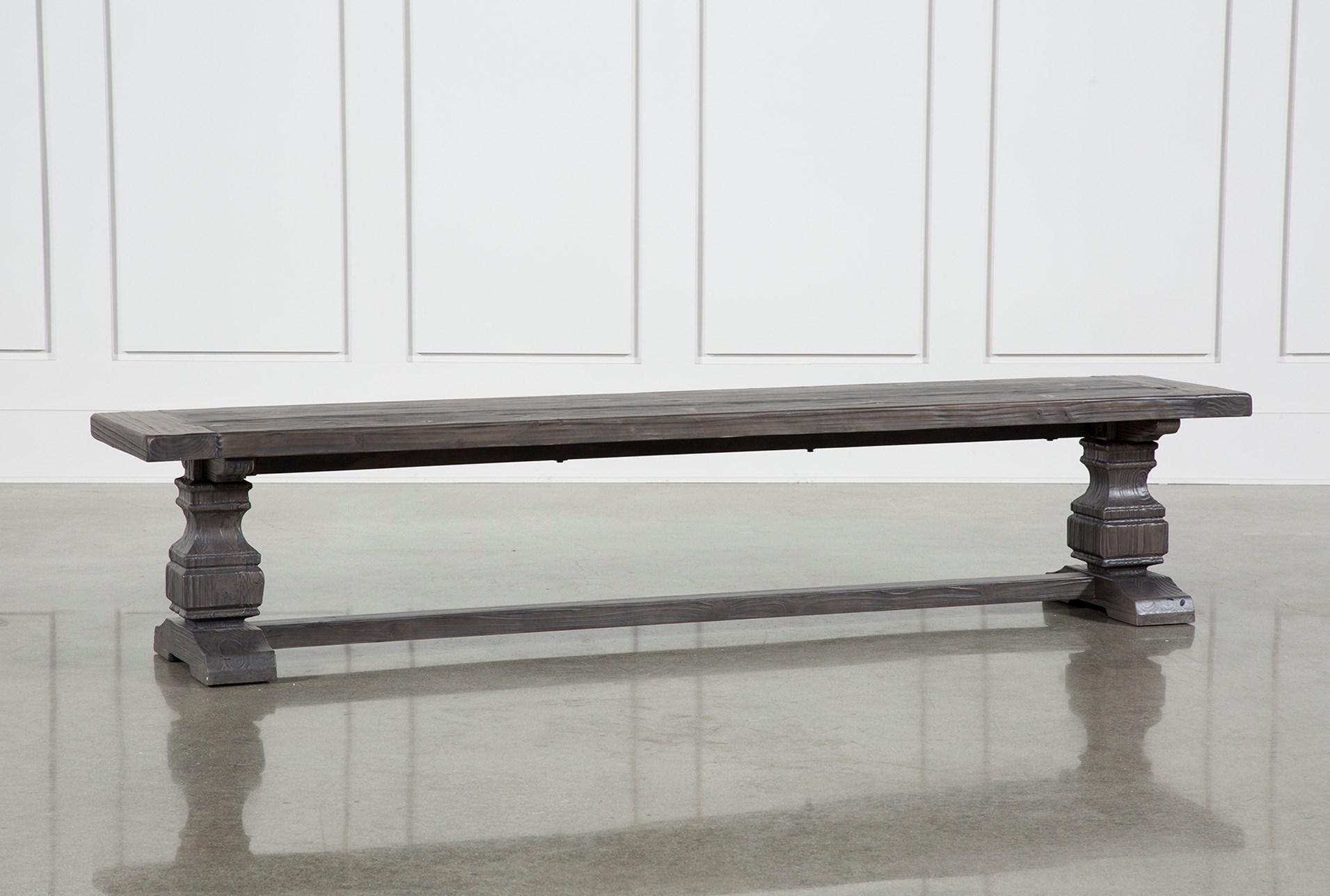 Norwood 88 Inch Dining Bench Living Spaces
