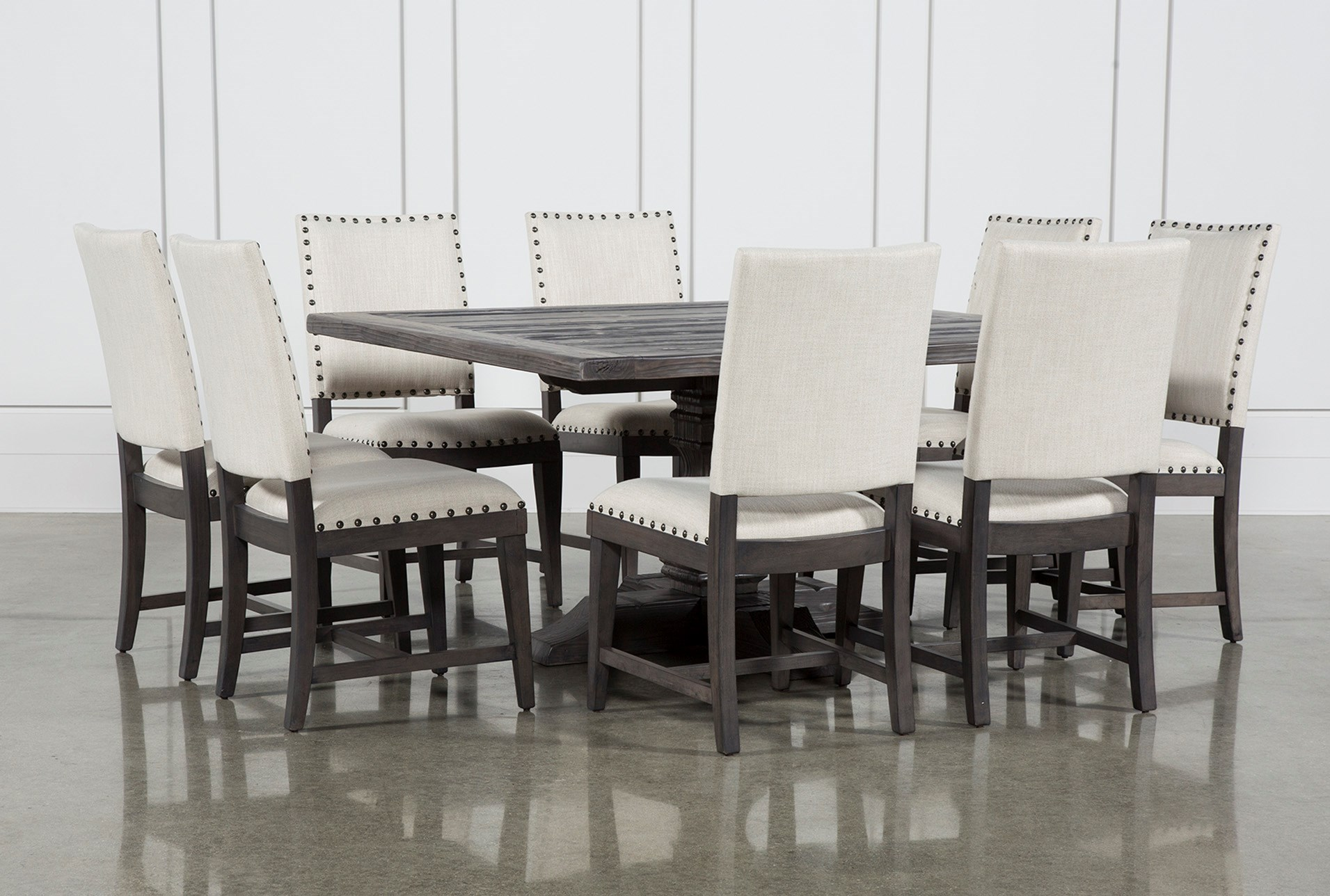 Norwood 9 Piece Square Dining Set | Living Spaces