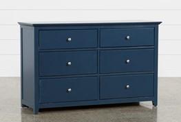 Taylor Navy 6 Drawer Dresser