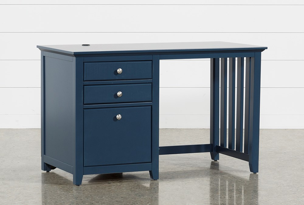 Taylor Navy Desk With USB