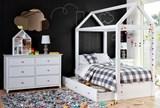 Taylor White Dresser - Room