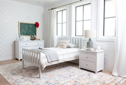 Taylor White 26 Nightstand Living Spaces