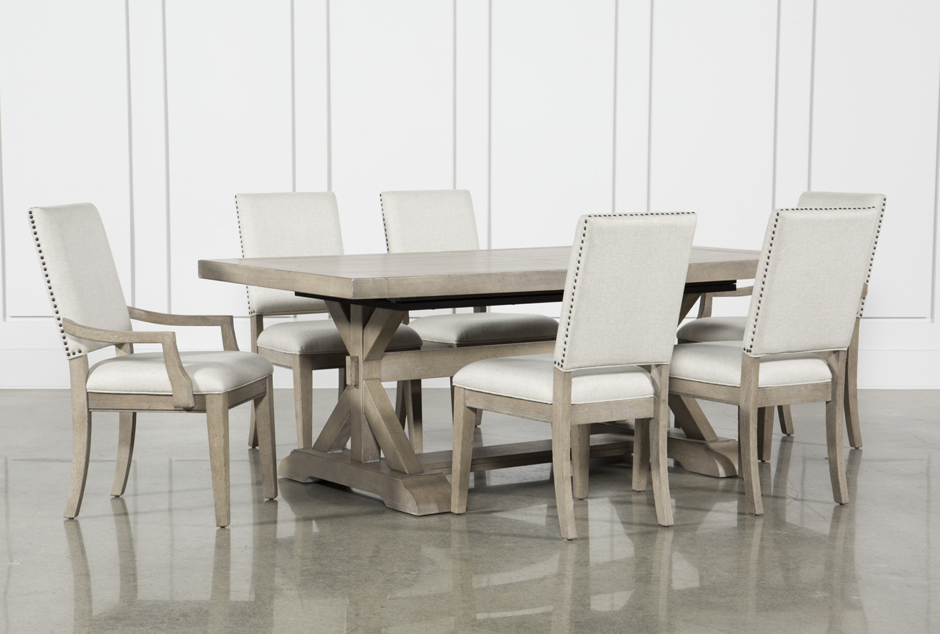 Charmant Walden 7 Piece Extension Dining Set