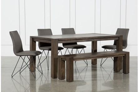 Benson 6 Piece Extension Dining Set W/Ranger Chairs - Main