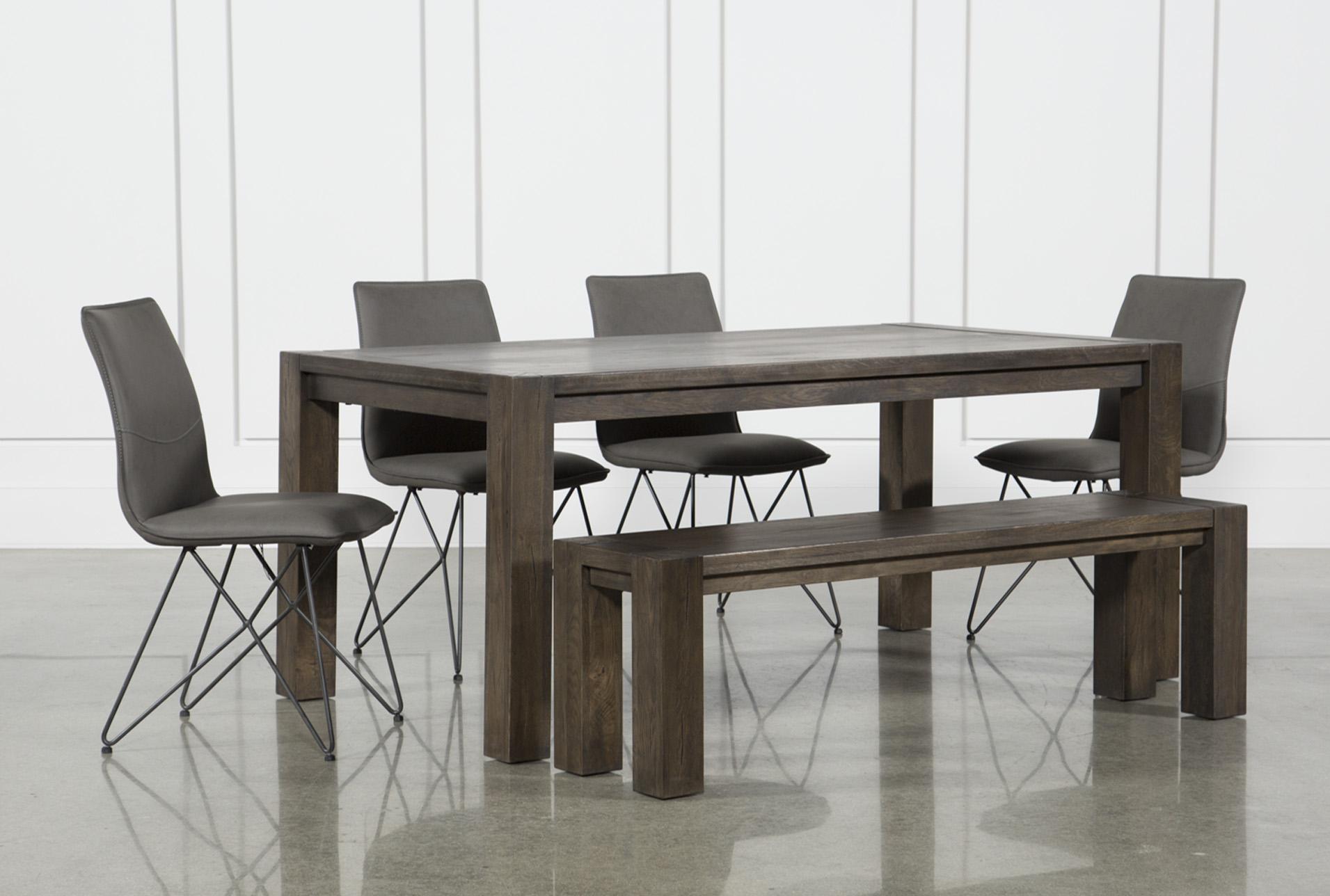 Benson 6 Piece Extension Dining Set W/Ranger Chairs   360