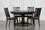 Valencia 5 Piece 60 Inch Round Dining Set - Signature
