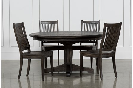 Valencia 5 Piece 60 Inch Round Dining Set - Main