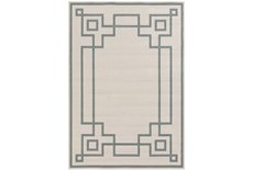 72X108 Outdoor Rug-Greek Key Border Sage