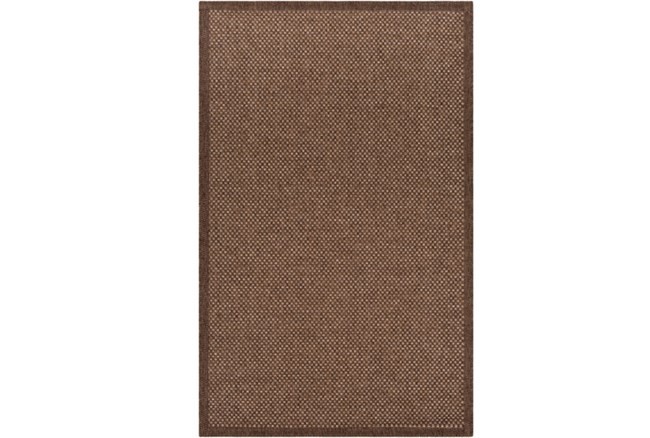 60X90 Outdoor Rug-Mylos Check Dark Brown/Camel - 360