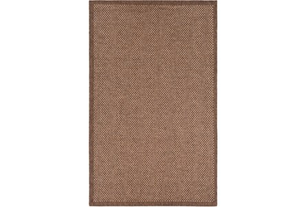 60X90 Outdoor Rug-Mylos Check Brown/Camel