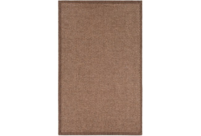60X90 Outdoor Rug-Mylos Check Brown/Camel - 360