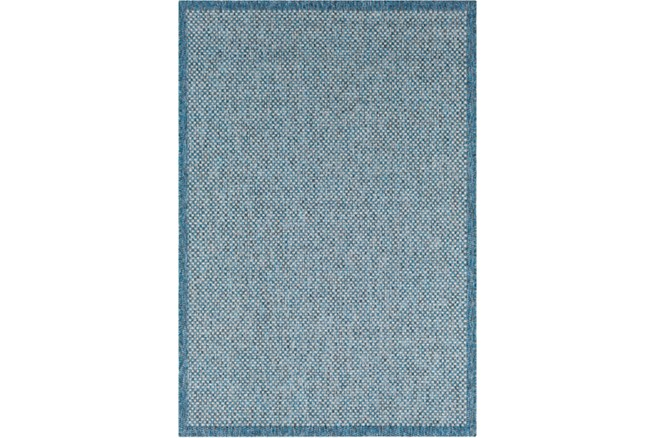 60X90 Outdoor Rug-Mylos Check Blue/Grey - 360