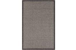 24X36 Outdoor Rug-Mylos Check Brown/Grey