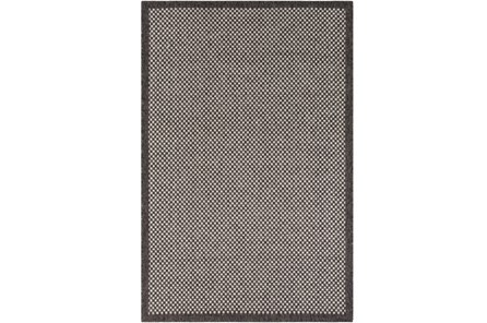 24X36 Outdoor Rug-Mylos Check Brown/Grey