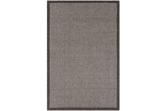 24X36 Outdoor Rug-Mylos Check Brown/Grey - 360