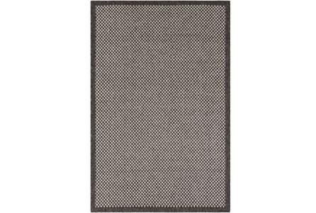 94X123 Outdoor Rug-Mylos Check Brown/Grey