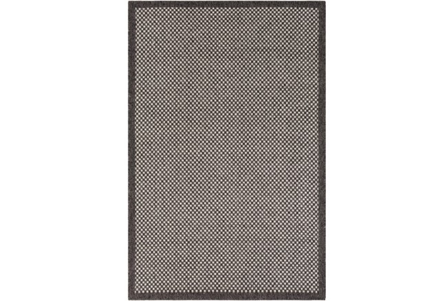 94X123 Outdoor Rug-Mylos Check Brown/Grey - 360