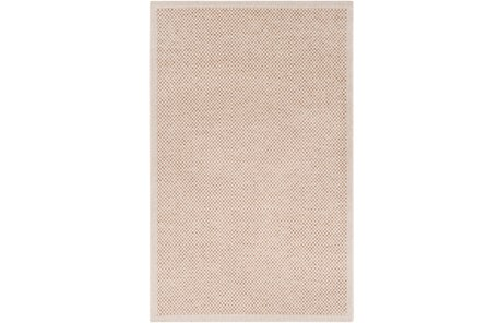 24X36 Outdoor Rug-Mylos Check Beige/Dark Brown