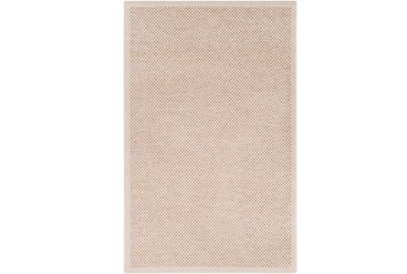 94X123 Outdoor Rug-Mylos Check Beige/Dark Brown