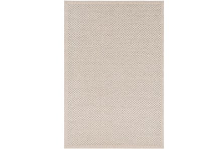 24X36 Outdoor Rug-Mylos Check Beige/Light Grey