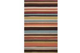 60X96 Outdoor Rug-Montego Stripe Multi