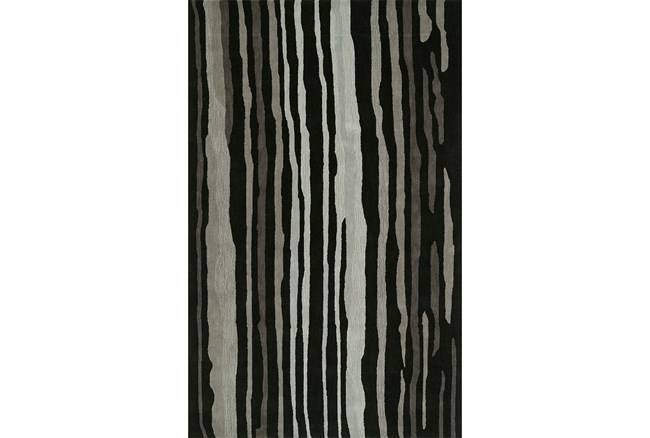 60X90 Rug-Striations Black And Charcoal - 360