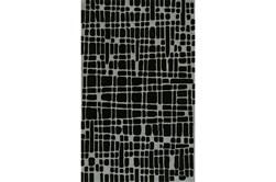 42X66 Rug-Variations Black