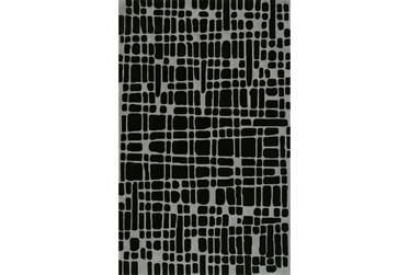 "3'5""x5'5"" Rug-Variations Black"