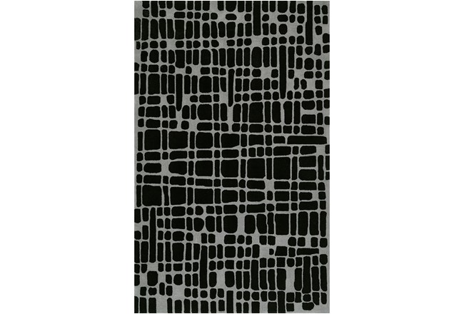 42X66 Rug-Variations Black - 360