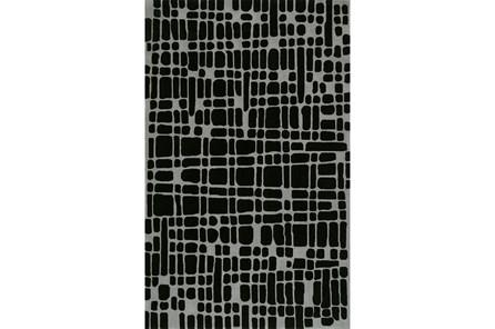 60X90 Rug-Variations Black - Main