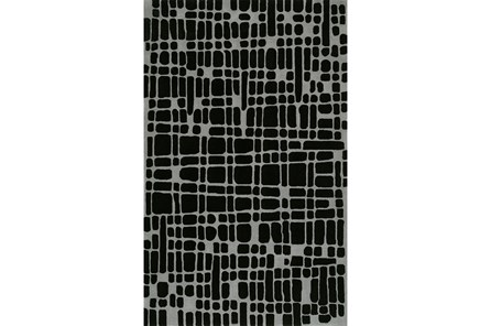 96X120 Rug-Variations Black - Main
