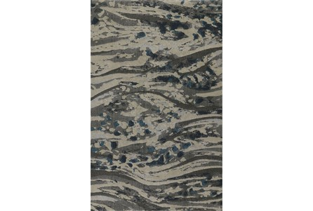 63X91 Rug-Stream Pewter