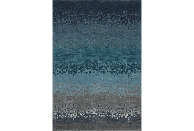 39X61 Rug-Layered Sand Turquoise - 360