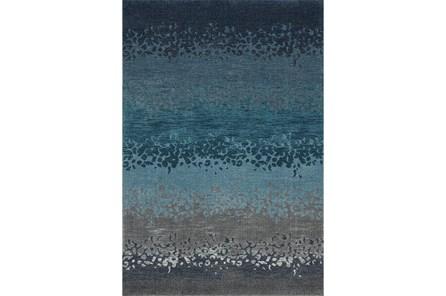 63X91 Rug-Layered Sand Turquoise