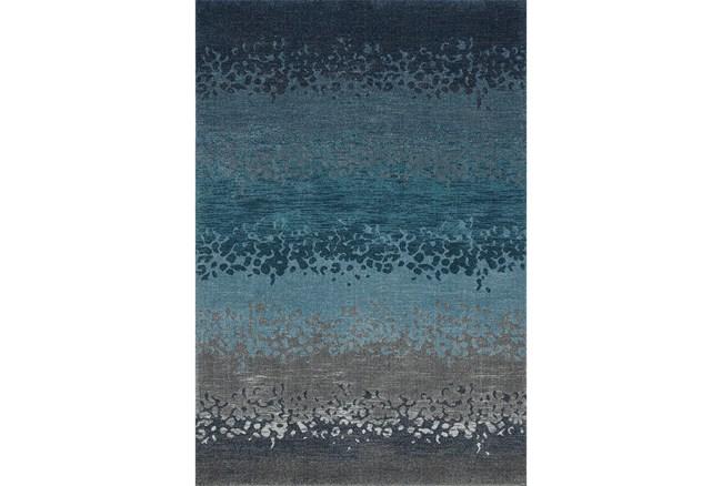 63X91 Rug-Layered Sand Turquoise - 360