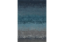 94X127 Rug-Layered Sand Turquoise