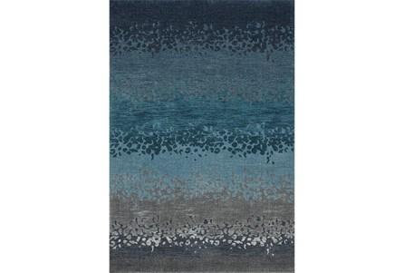94X127 Rug-Layered Sand Turquoise