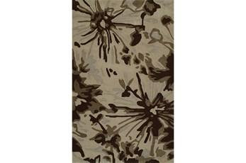60X90 Rug-Floral Burst Taupe